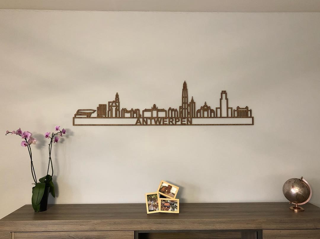 Antwerpen 95cm eiken