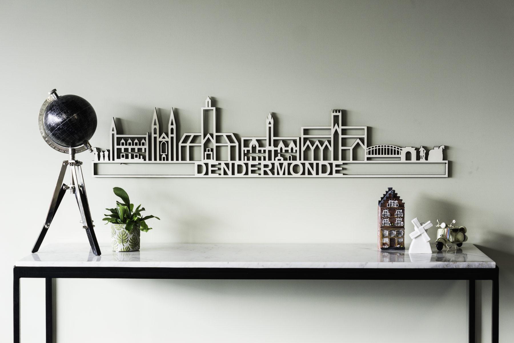 Houten skyline Dendermonde