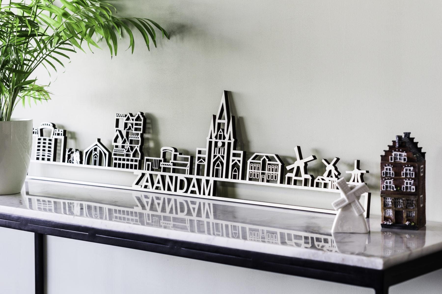 Skyline Zaandam hout