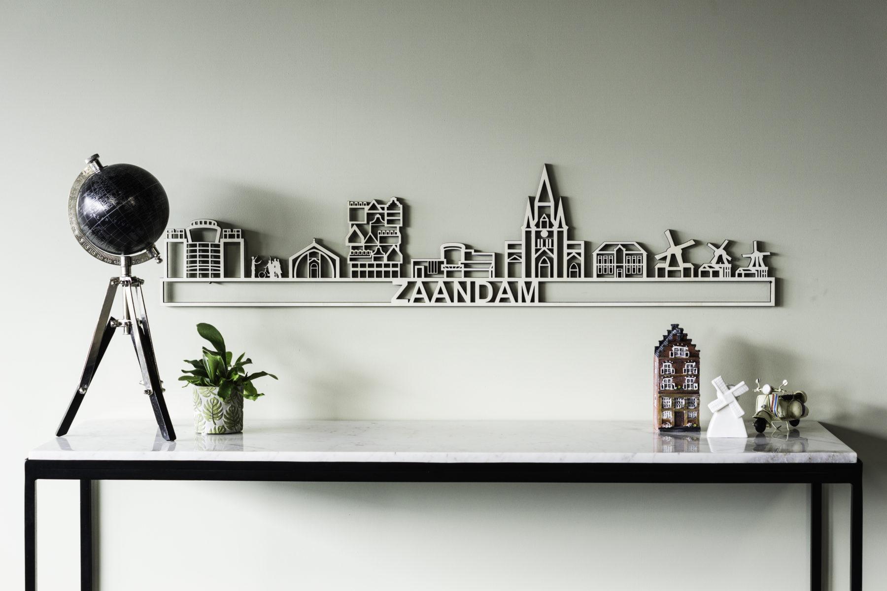 Houten skyline Zaandam