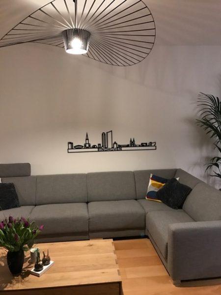 Skyline Eindhoven zwart kunststof