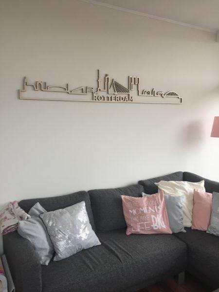 Rotterdam skyline hout populier