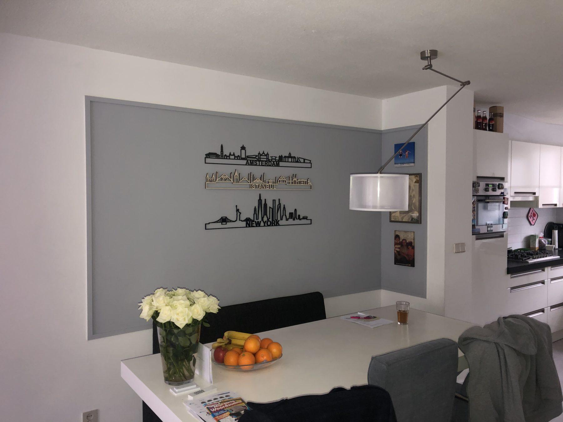 Amsterdam + Istanbul + New York 95cm