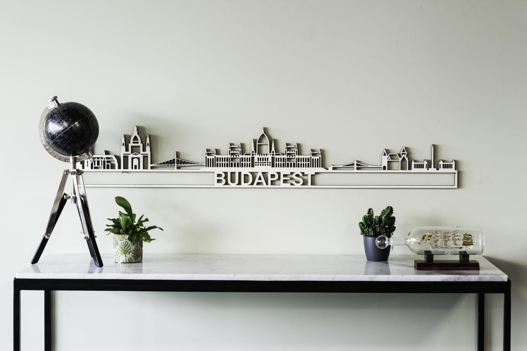 skyline Budapes populier hout