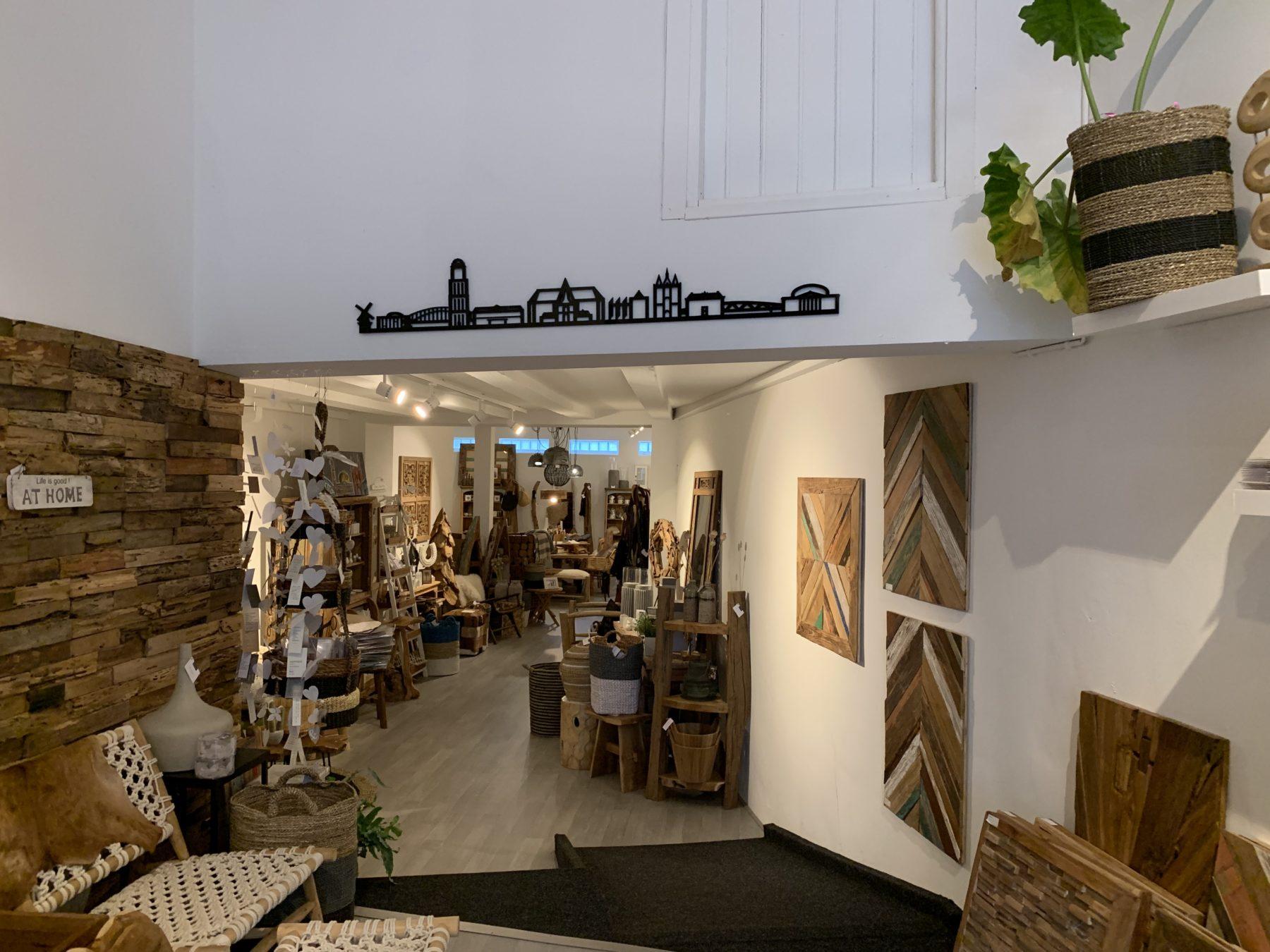 Zwolle 170cm zwart kunststof zonder tekst