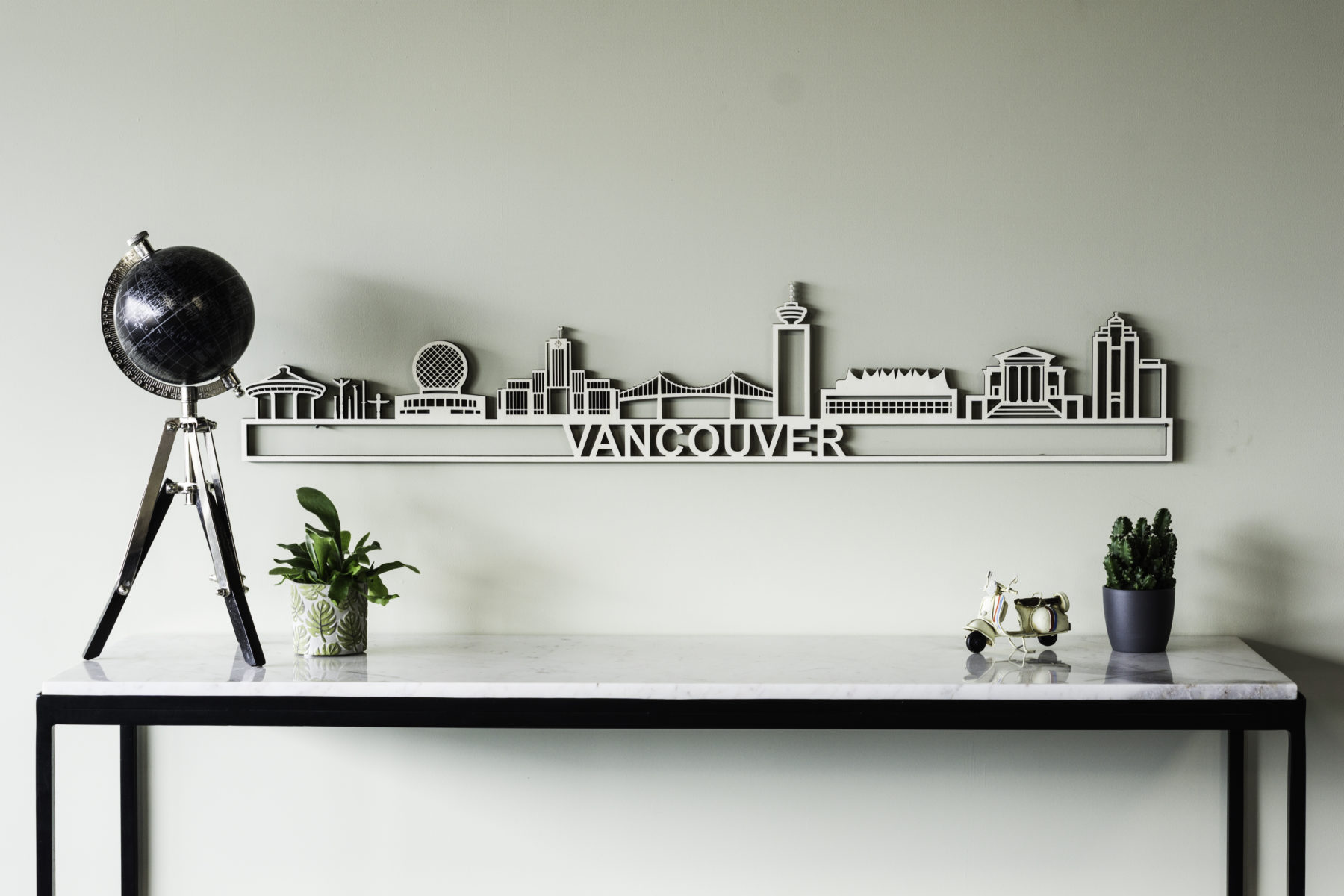 Houten skyline Vancouver
