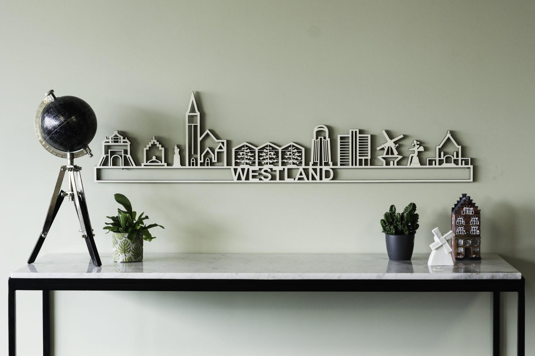 Houten skyline Westland