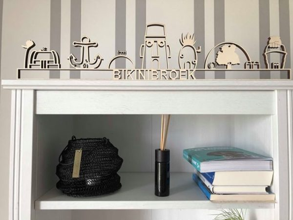 Skyline Bikinibroek hout