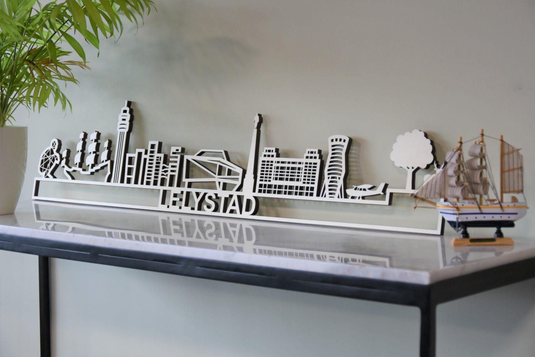 houten skyline Lelystad