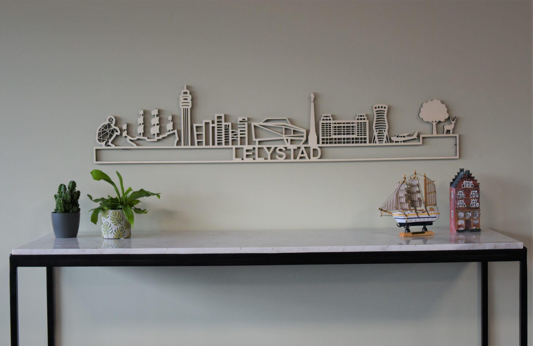 skyline Lelystad Hout