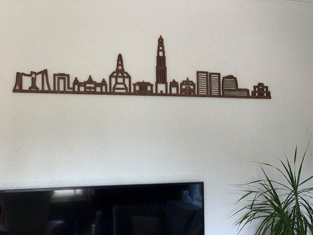 Groningen 90cm noten zonder tekst