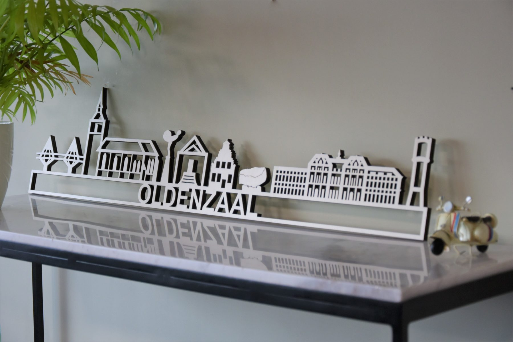 Skyline Oldenzaal hout populier
