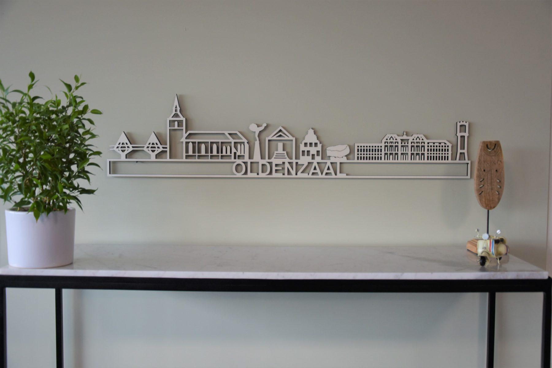 Houten skyline Oldenzaal