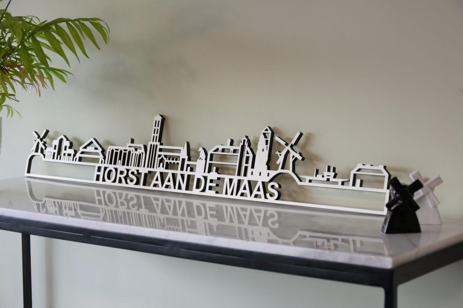 Houten skyline Horst aan de Maas populier