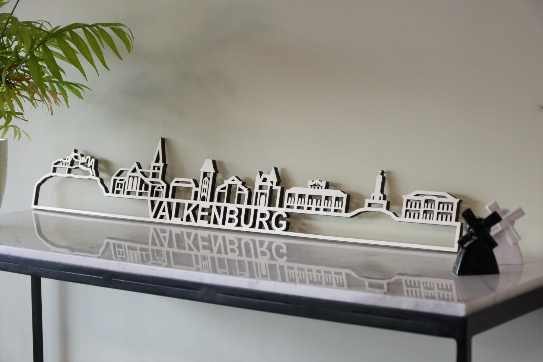 Skyline valkenburg hout populier