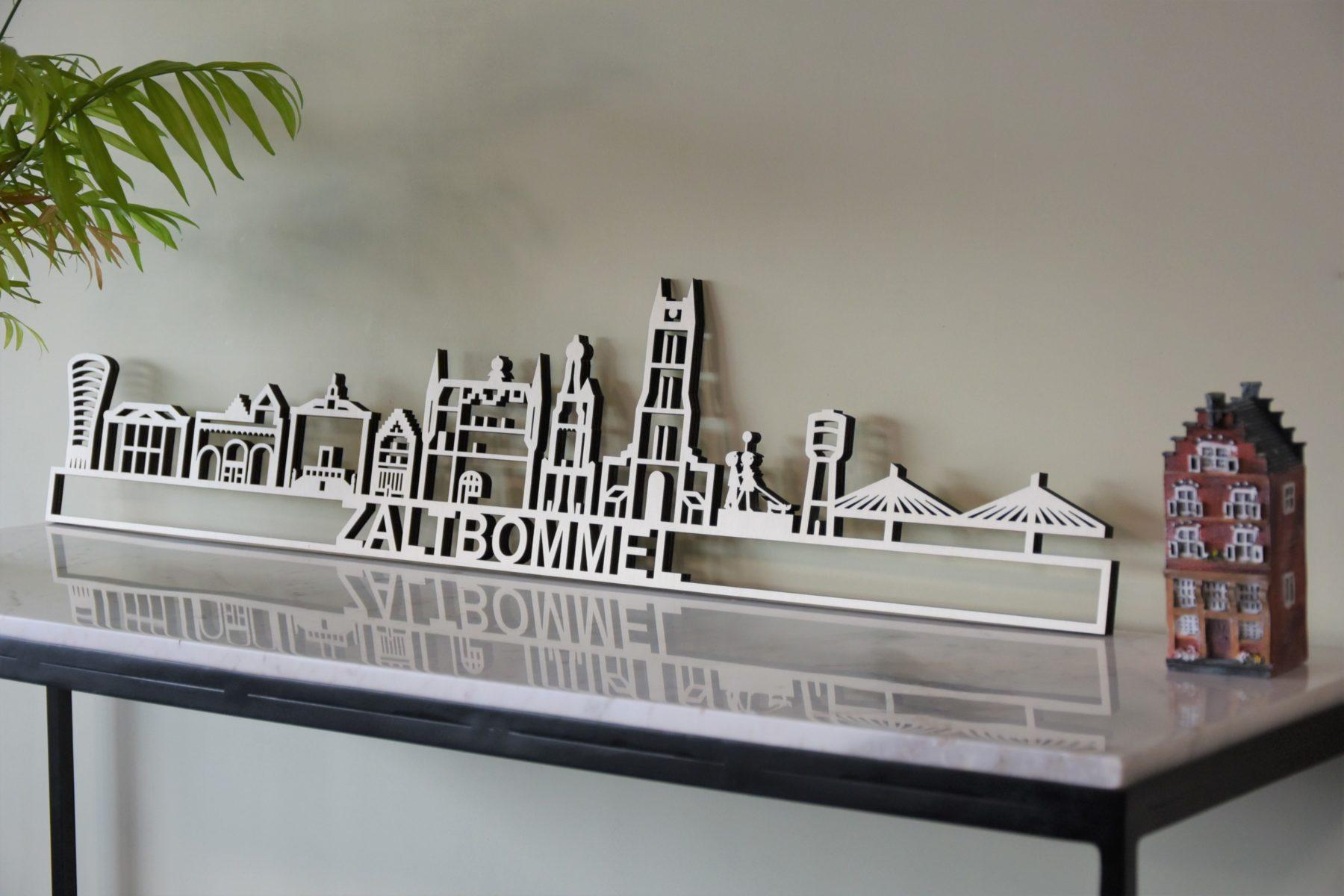Zaltbommel skyline populierenhout