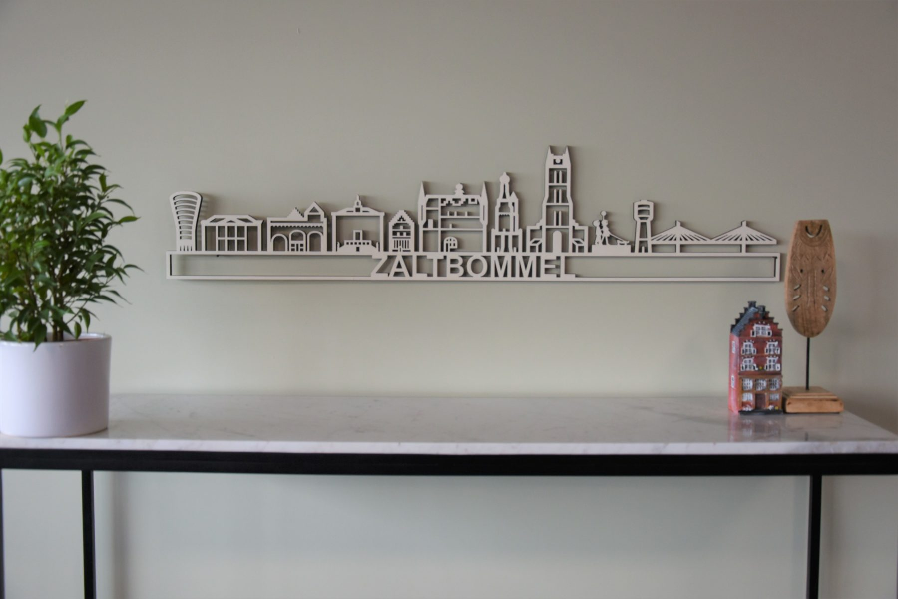 Houten skyline Zaltbommel