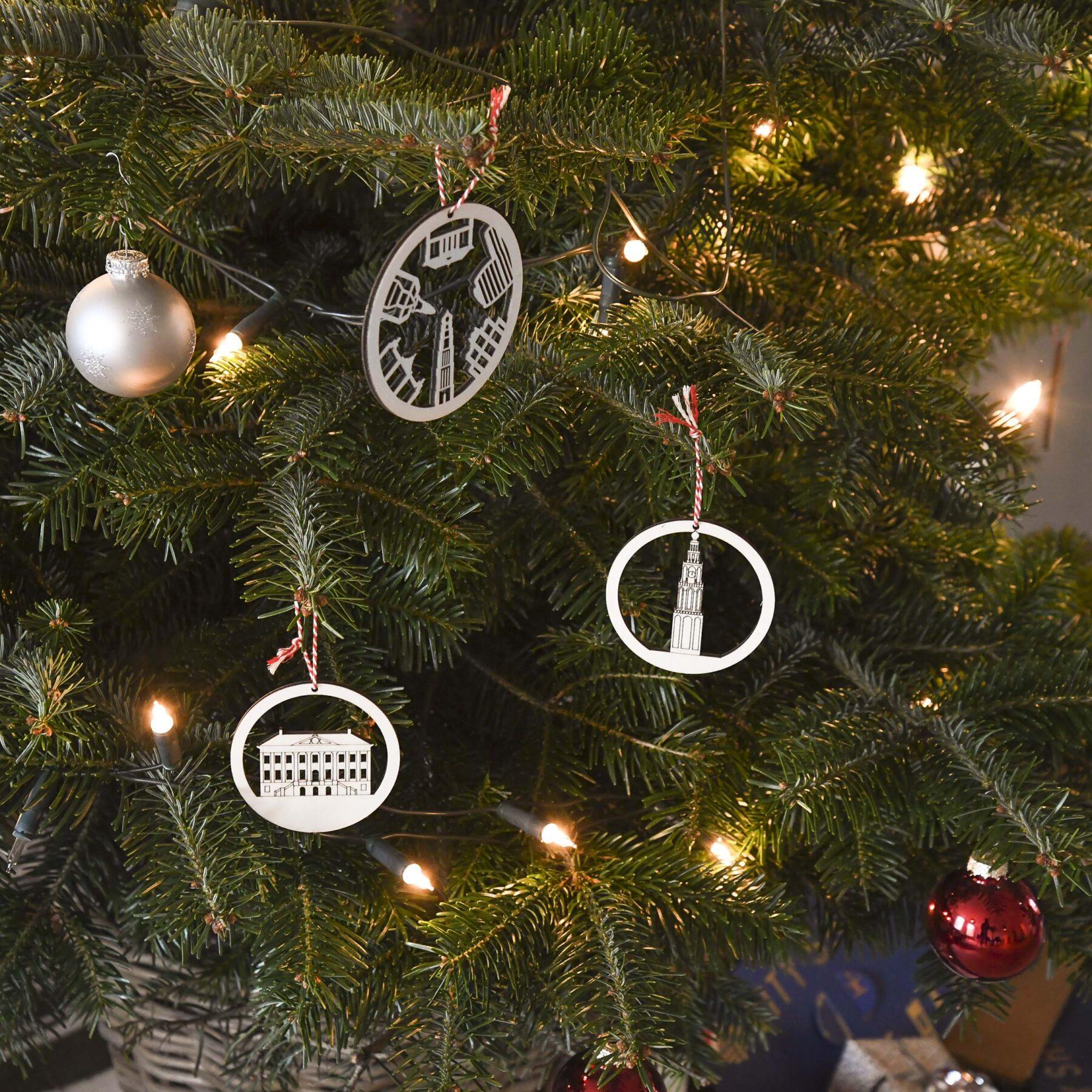 Groningen kerstballen