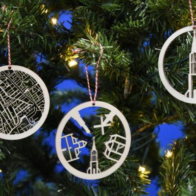 Kerstballen Delft