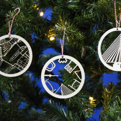 Kerstballen Rotterdam