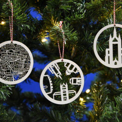 Kerstballen Leiden