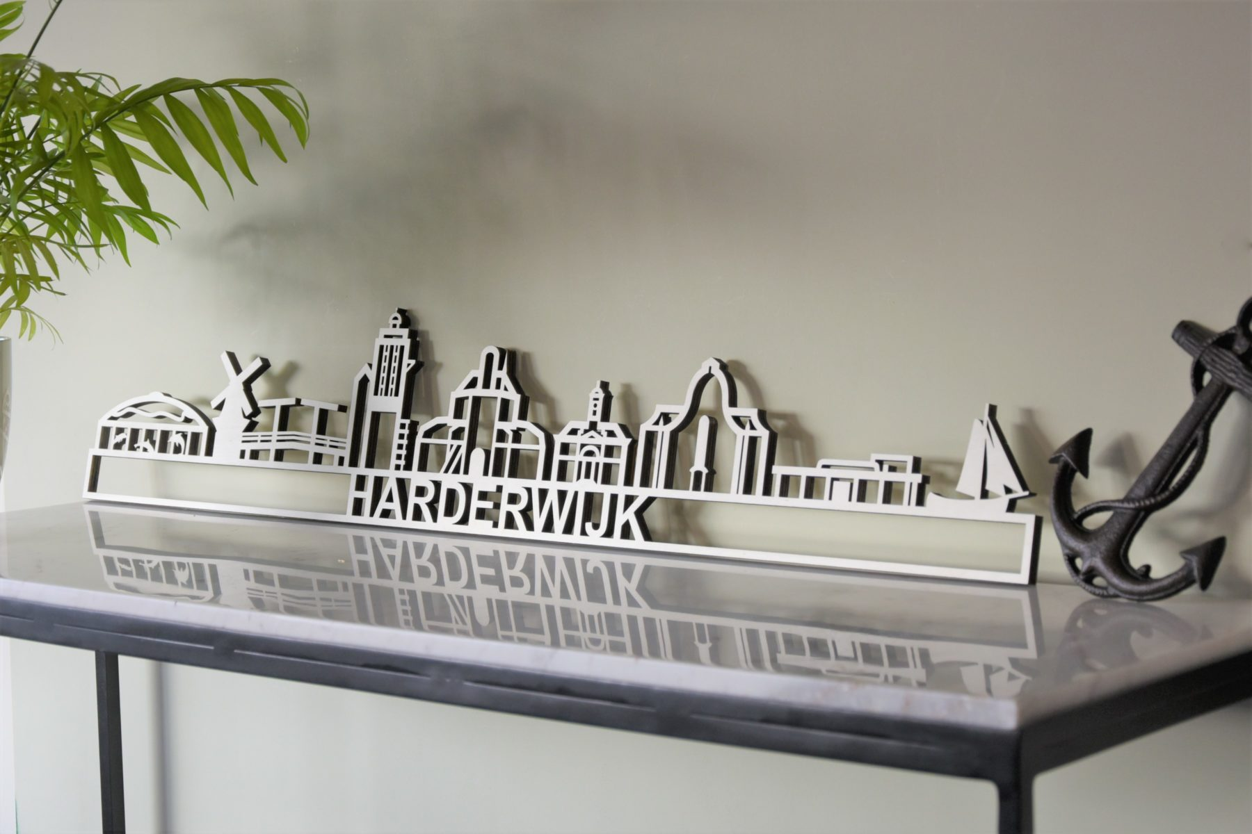Skyline Harderwijk populierenhout