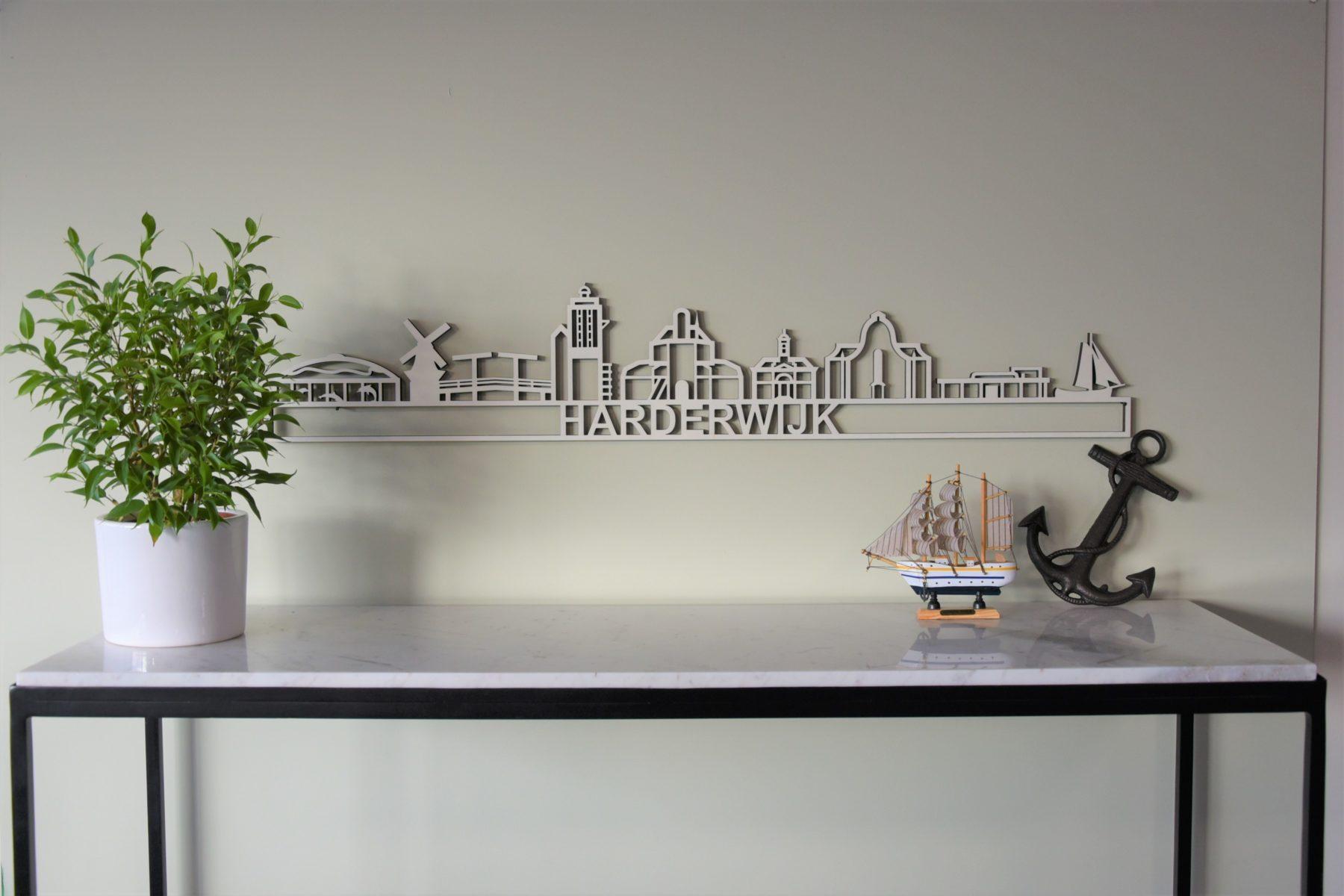 Houten skyline Harderwijk populier