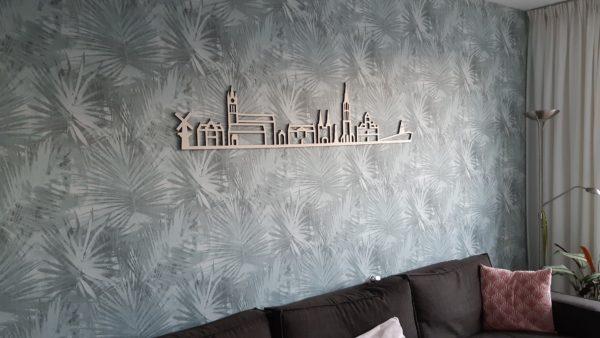 houten Skyline Delft
