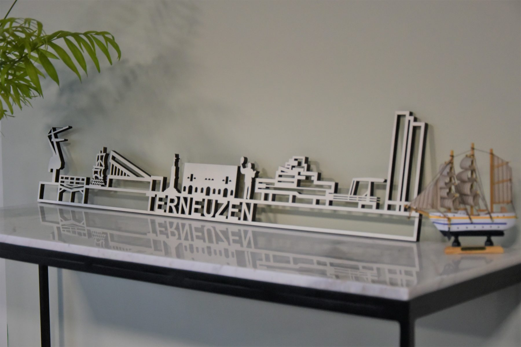 Skyline Terneuzen populierenhout