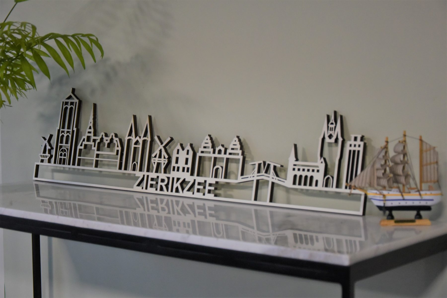 skyline Zierikzee hout populieren