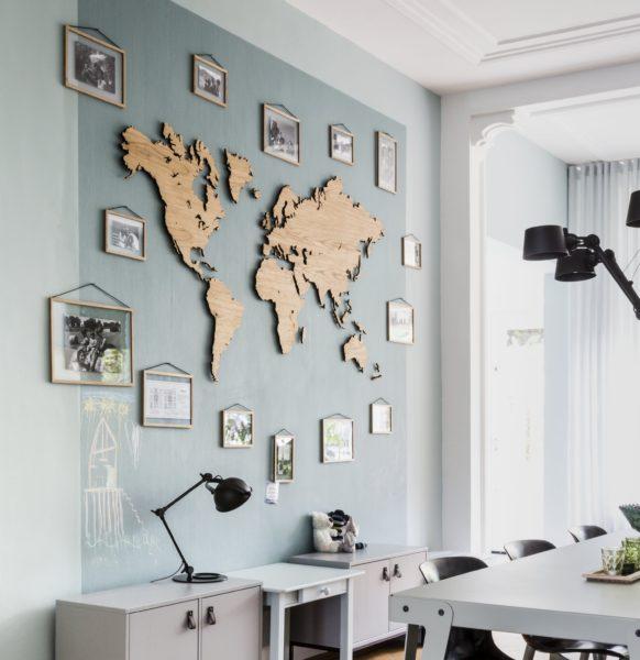 houten-wereldkaart-eikenhout