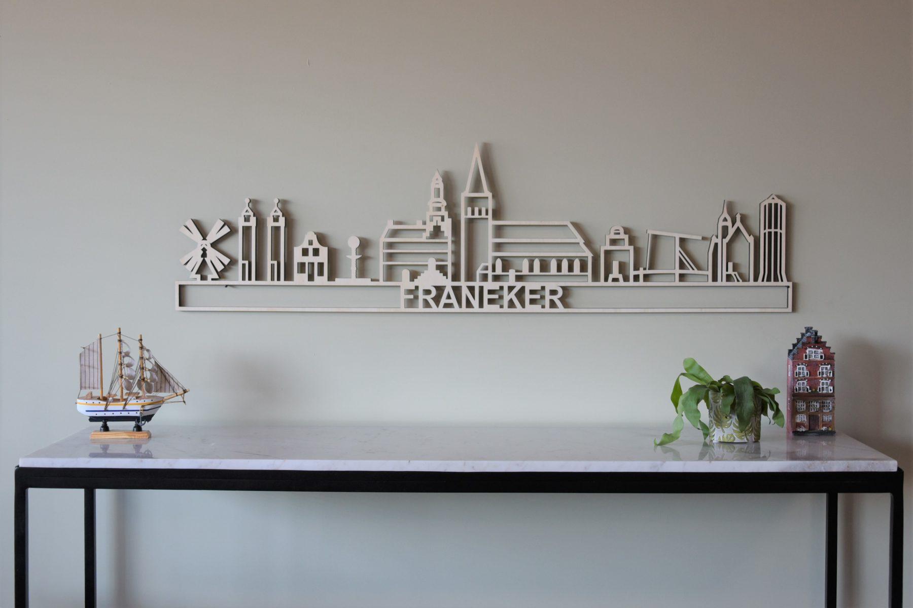 houten skyline Franeker