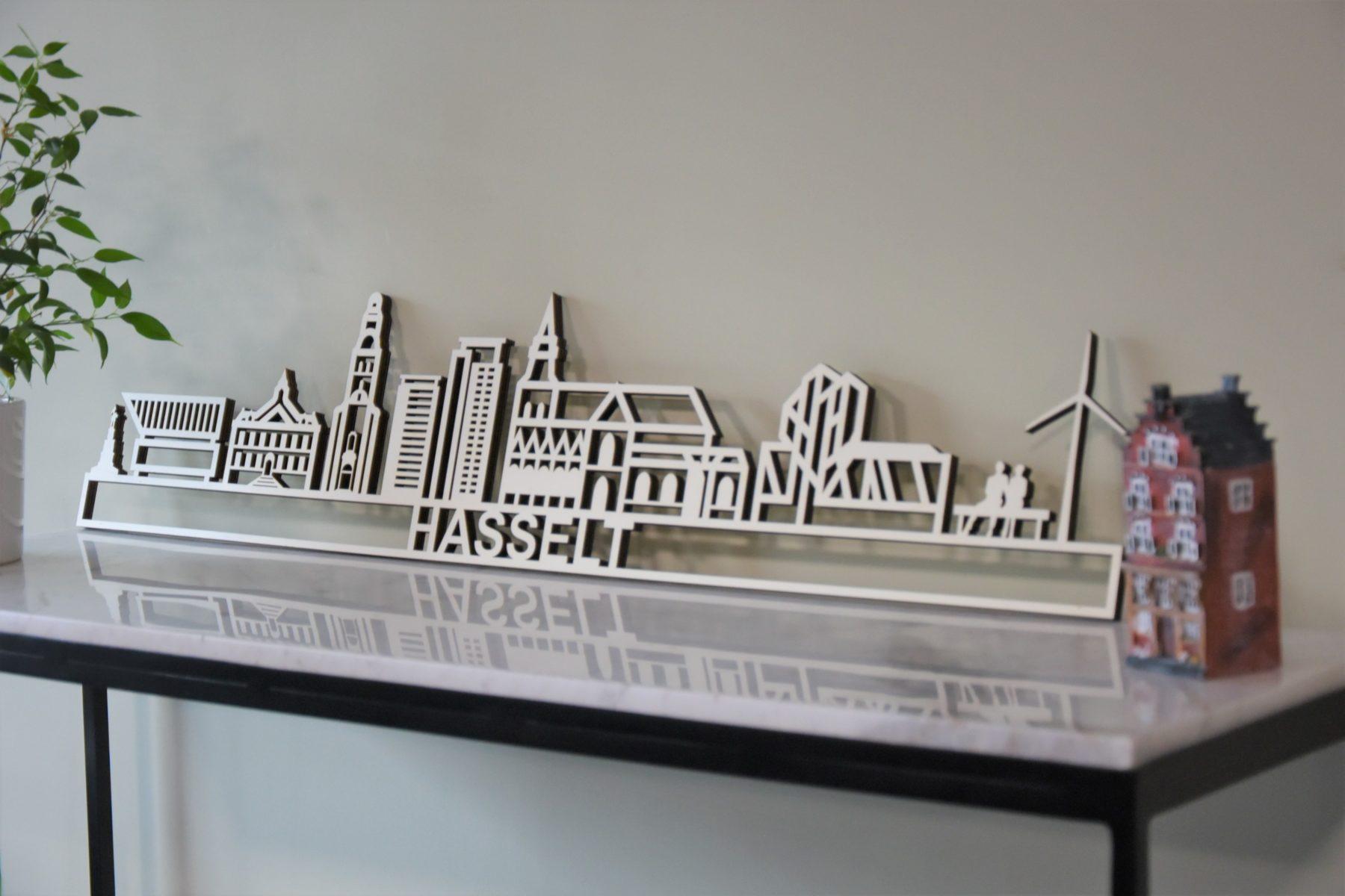 Skyline Hasselt populierenhout