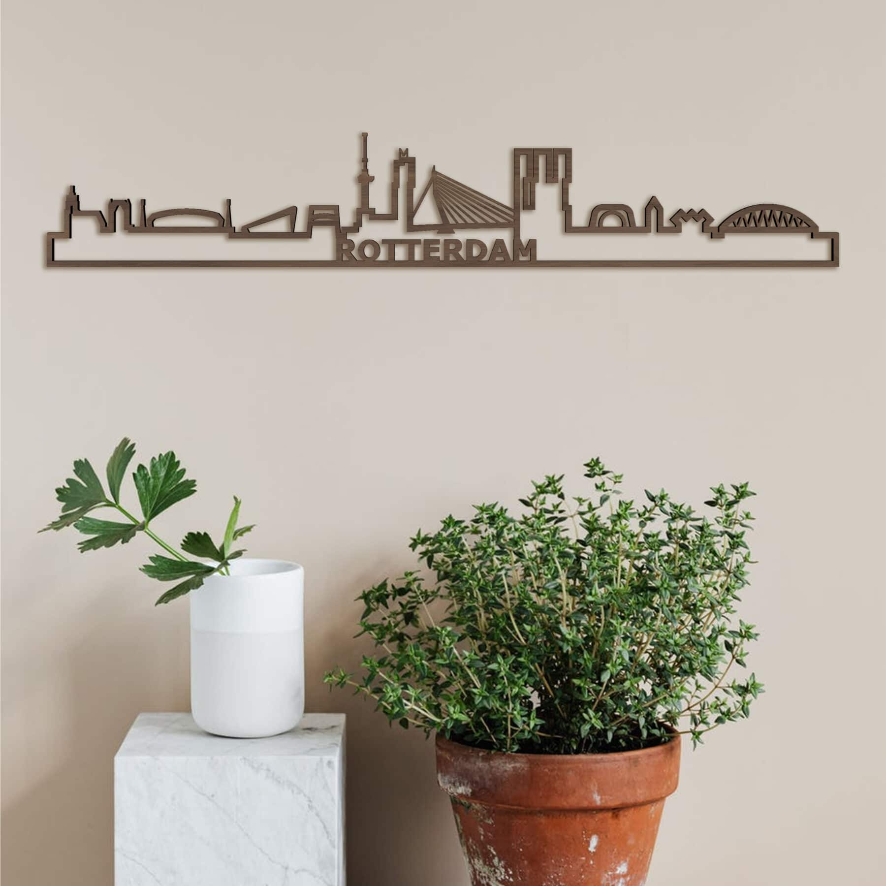 Skyline Rotterdam noten