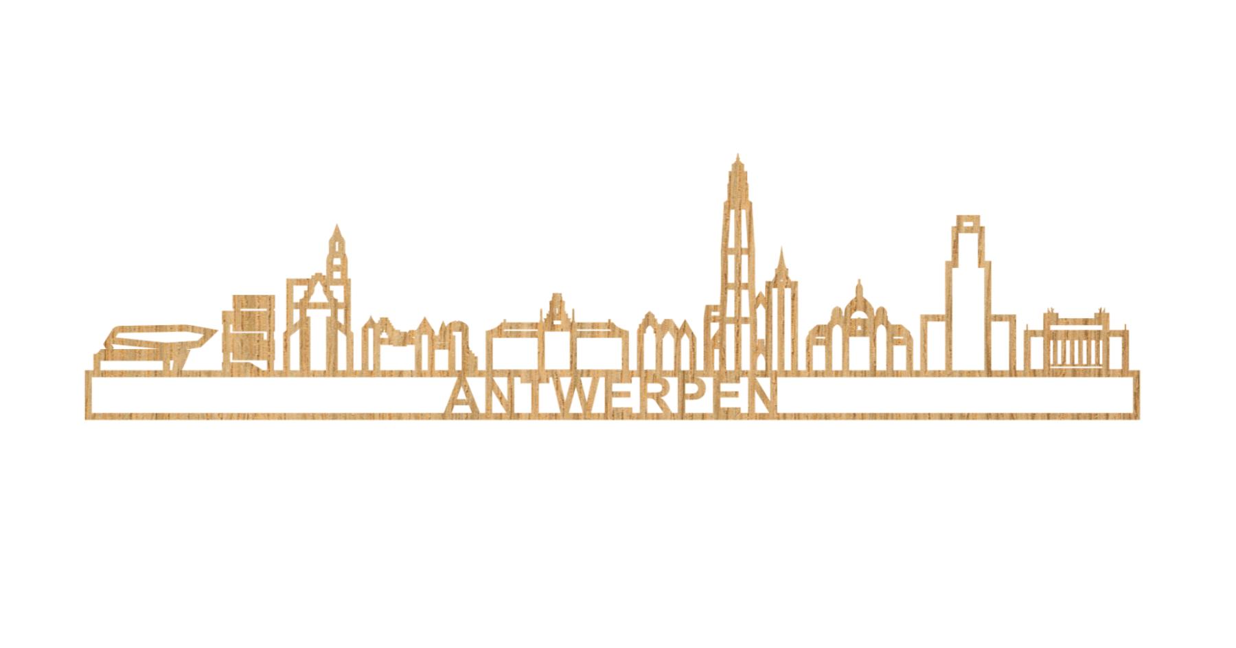 Antwerpen 60cm hout