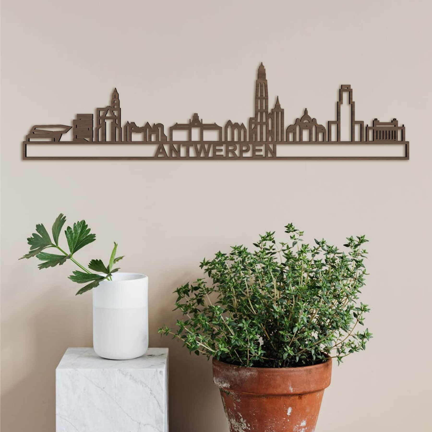 Skyline Antwerpen noten