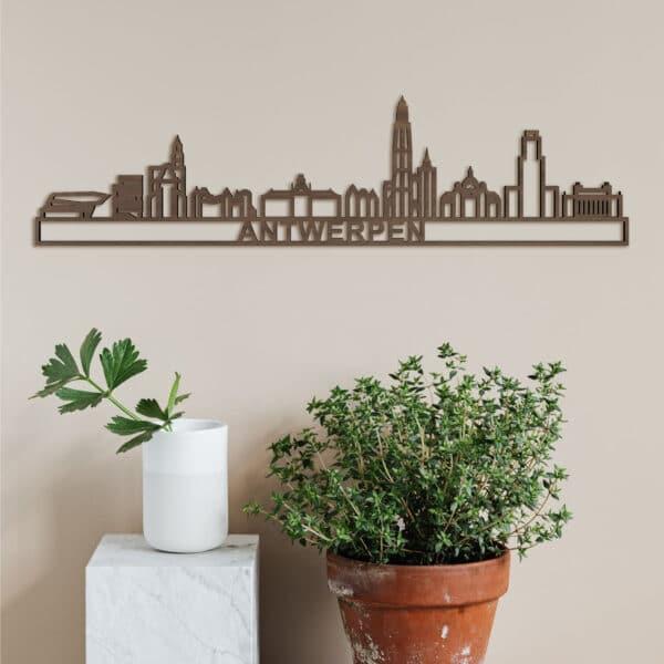 Skyline Antwerpen (mini)