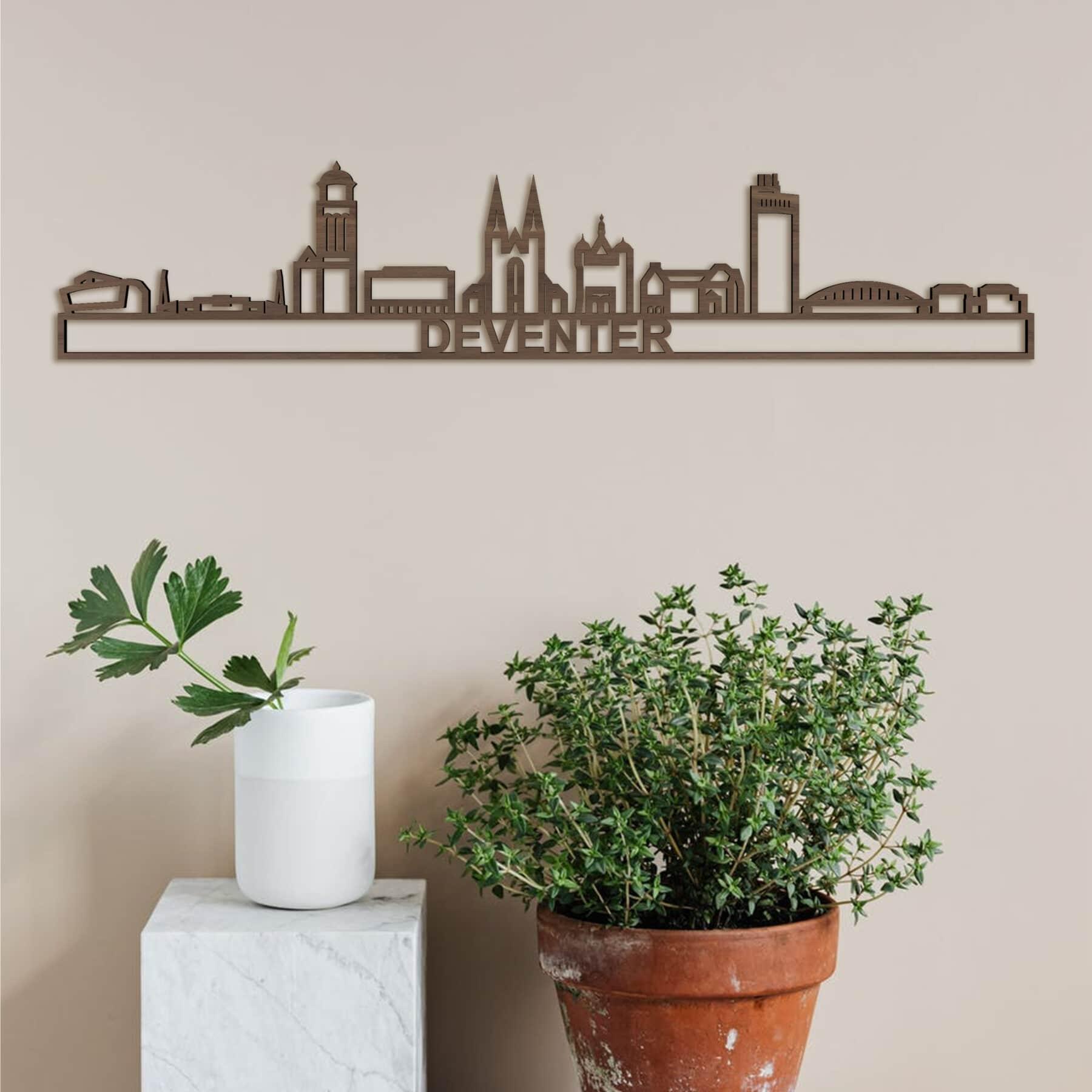 Deventer skyline noten