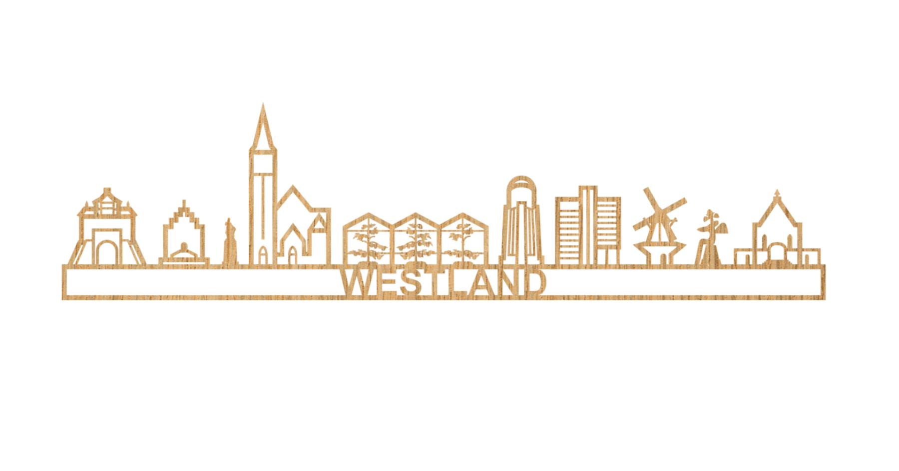 Skyline Westland 60cm hout