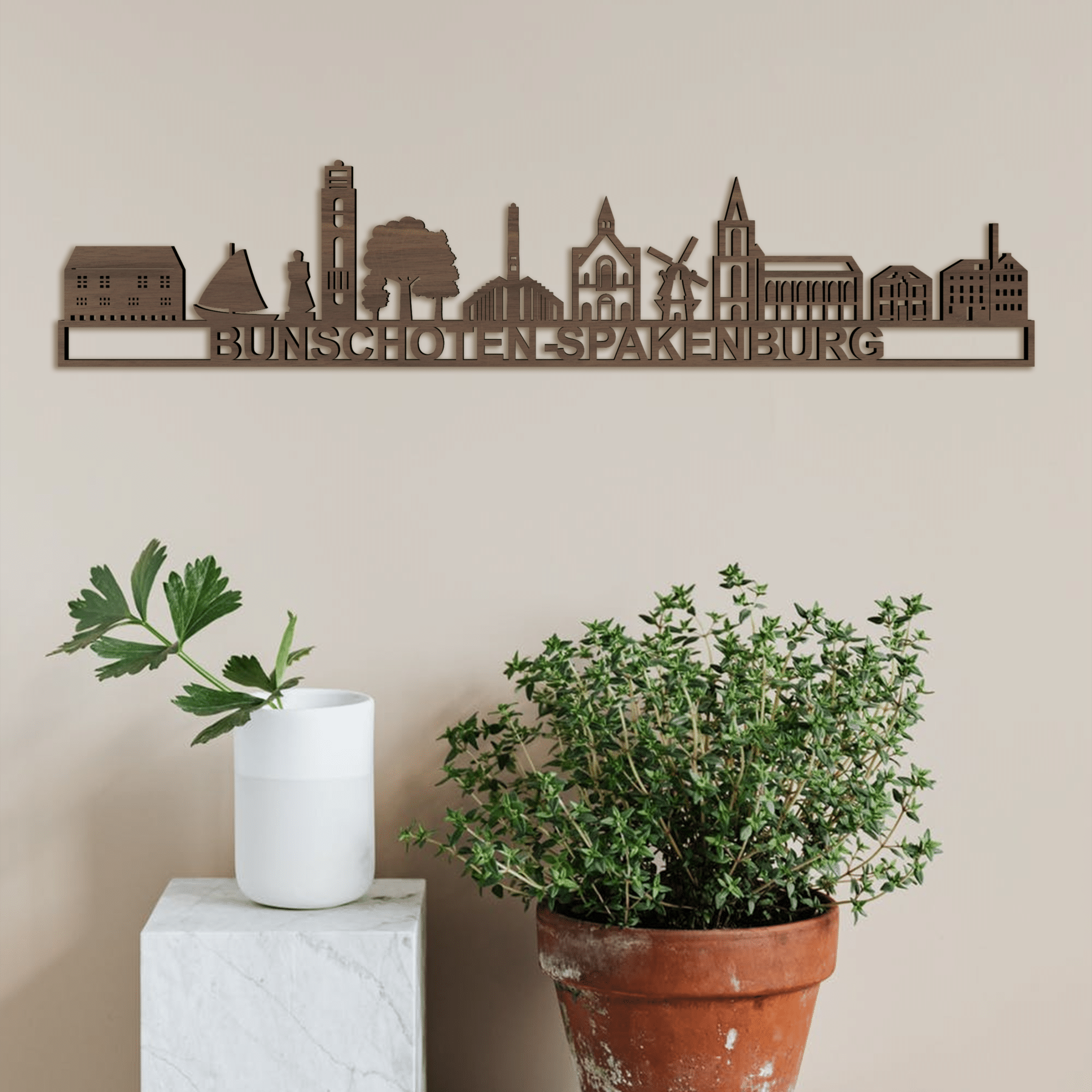 Skyline Bunschoten-Spakenburg