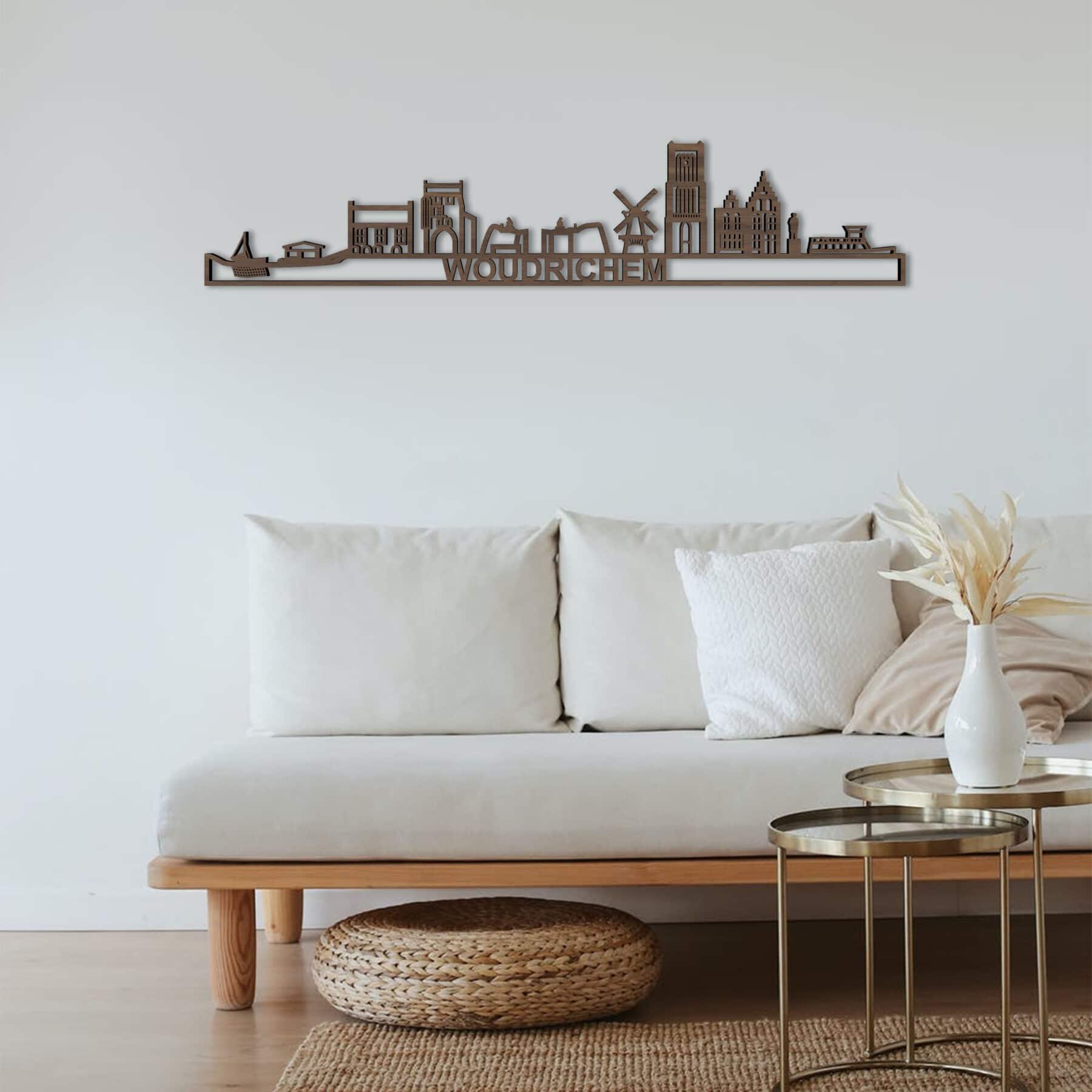 Skyline Woudrichem hout